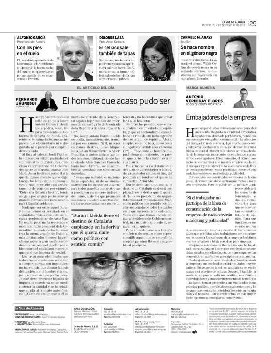 Marca Almería, digital e impreso